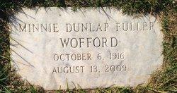 Minnie <I>Dunlap</I> Fuller Wofford
