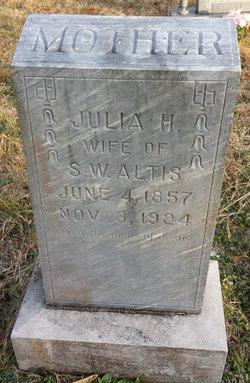 Julia Harriet <I>Brooks</I> Altis