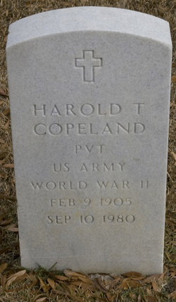 Harold T Copeland
