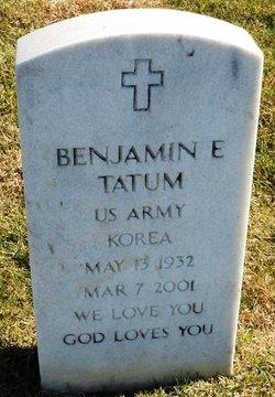 Benjamin E. Tatum