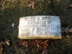 Helen R Biddle