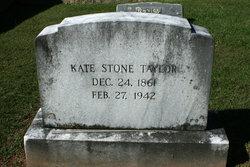 Kate <I>Stone</I> Taylor