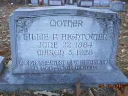 Lillie F <I>Aulds</I> Hightower
