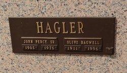 Olive <I>Bagwell</I> Hagler