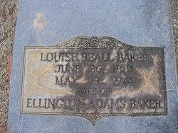 Louise <I>Beall</I> Baker
