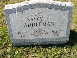 Nancy Helen <I>Bonsall</I> Addleman