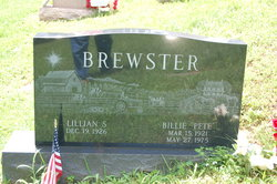 """Billie """"Pete"""" Brewster"""