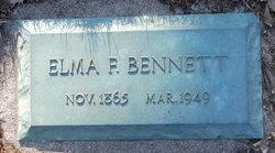 Elma F <I>Freet</I> Bennett