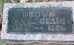 Irvin Craig Brown
