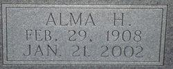 Alma H Todd