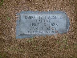 Dorothy Hassell <I>Howard</I> Dahlke