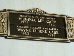 Wayne Eugene Carr