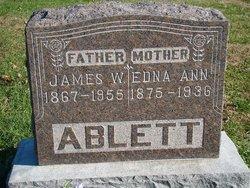Edna Ann <I>Presgrove</I> Ablett