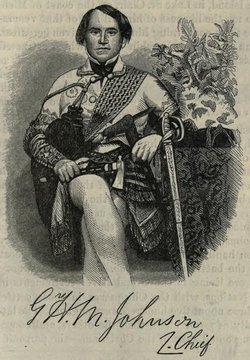 "Chief George Henry Martin ""Onwanonsyshon"" Johnson"