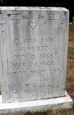 Clara Ann <I>Bamburg</I> Hubbard