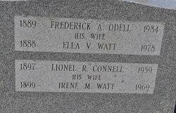 Irene M. <I>Watt</I> Connell