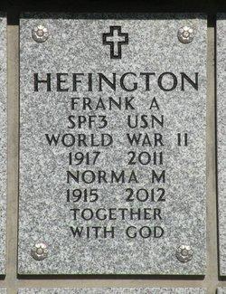 Norma M. Hefington