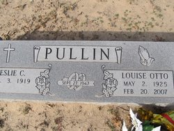 Louise Ida Emily <I>Otto</I> Pullin