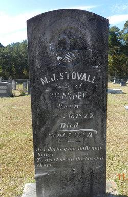 Margaret Jane <I>Stovall</I> Anders
