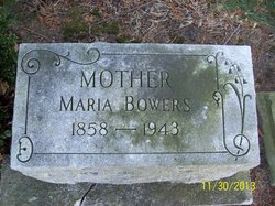 Maria <I>Overmyer</I> Bowers