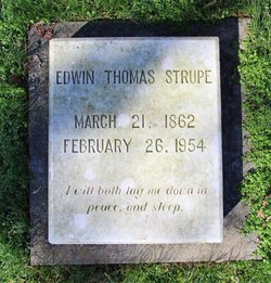 Edwin Thomas Strupe