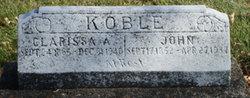 Clarissa Alice <I>Jacobs</I> Koble