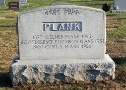 Florence Elizabeth <I>Adams</I> Plank