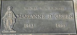 Marianne D Green