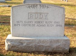 Gertrude Lenore <I>Adams</I> Rudy