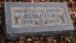 Maud Susanne <I>Dillon</I> Weakland