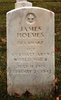 Sgt James Holmes