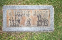 "Alfred Louise ""Josie"" <I>Cates</I> Hodge"