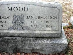 "Jane Adelaide ""Janie"" <I>Brogdon</I> Mood"