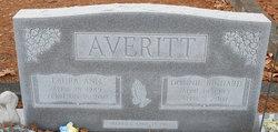 Laura Ann <I>Hayes</I> Averitt