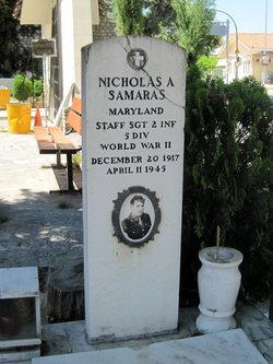 Sgt Nicholas A Samaras
