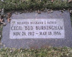 """Cecil Ivan """"Bud"""" Burningham"""