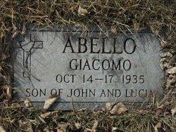 """Giacomo """"Jake"""" Abello"""
