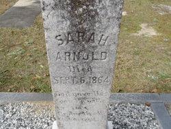 Sarah <I>Sellers</I> Arnold