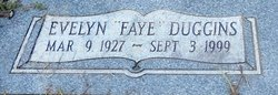 Evelyn Faye <I>Duggins</I> Barker
