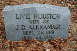 "Olivia ""Livie"" <I>Houston</I> Alexander"