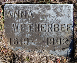 Mrs Anna Wetherby