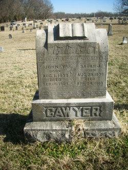 Sarah Jane <I>Robinson</I> Cawyer