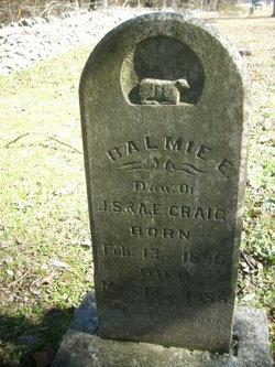 Balmie E. Craig