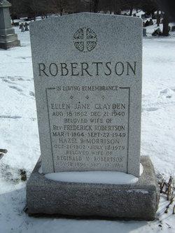 Hazel B. <I>Morrison</I> Robertson