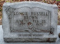 """Laura Ann """"Loncie"""" <I>Havard</I> Russell Brown"""