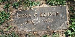 Edna C. <I>Butz</I> Benson