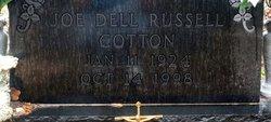 Joe Dell <I>Russell</I> Cotton