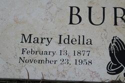 Mary Della <I>Campbell Lawrence</I> Burns