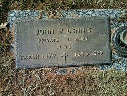 John William Dennis