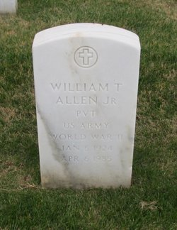 PVT William T Allen, Jr
